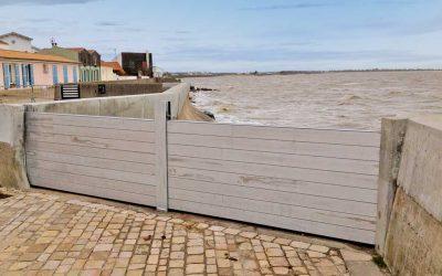 Protection inondation d'une ville balnéaire contre les submersions marines