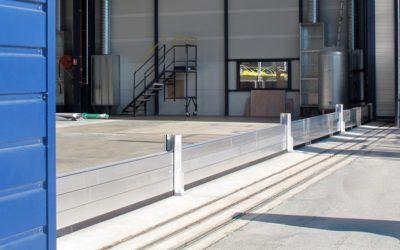 Protection anti-inondation d'un bâtiment industriel
