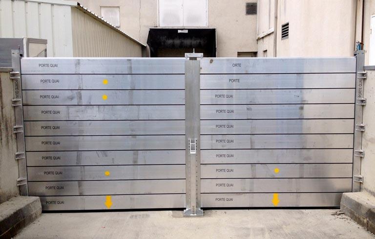 batardeaux amovibles anti-inondation en aluminium–Interalliance