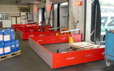 Barrières de confinement pour site de stockage de produits dangereux