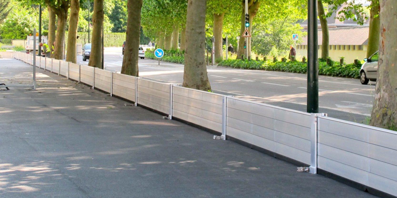 Barrières de protection anti inondation