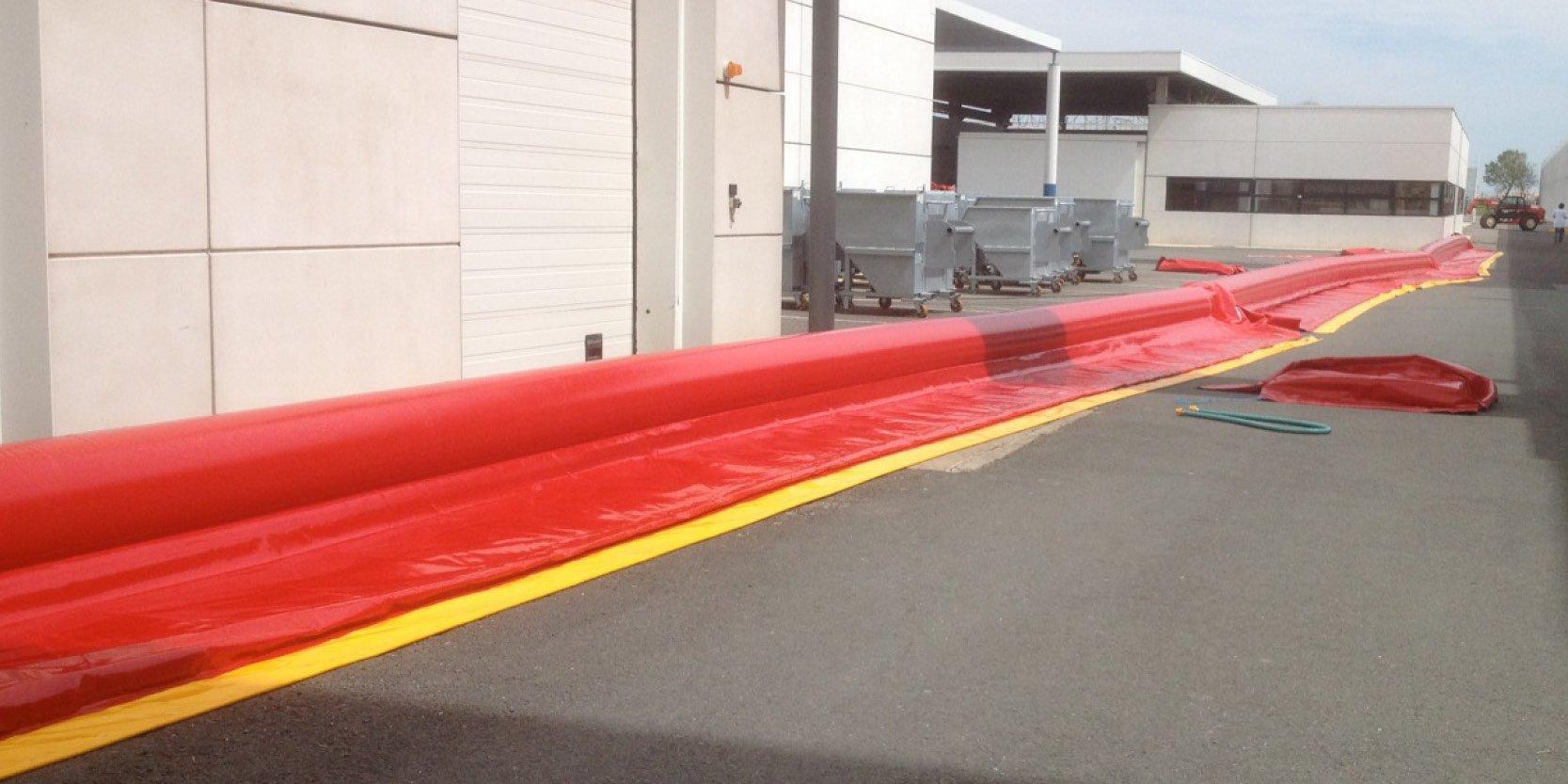Barrières gonflable de protection anti inondation