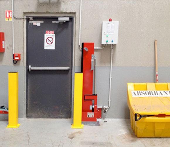 Rétention des eaux d'extinction d'incendies dans une usine par Interalliance