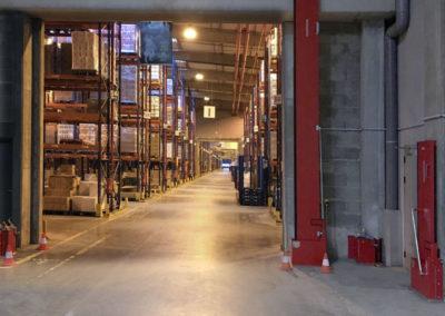 Système de rétention des eaux d'incendie Interalliance pour usine ICPE et SEVESO