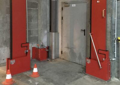 Système de confinement des eaux d'incendie Interalliance pour usine ICPE et SEVESO