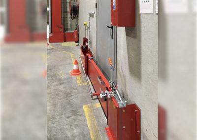 Système de rétention des eaux d'incendie sur site ICPE et SEVESO