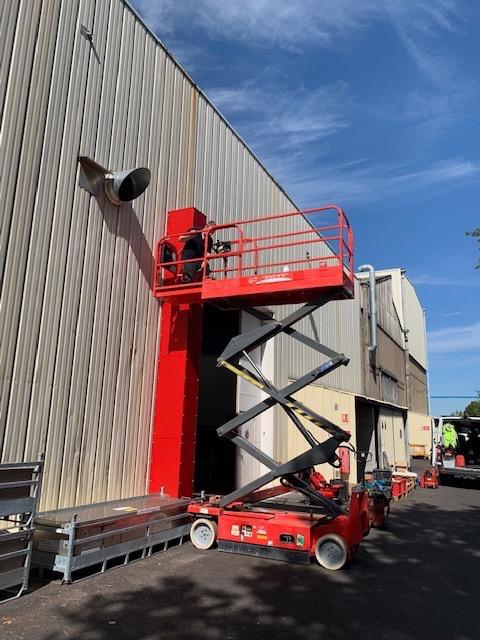 Interalliance Installation du système de rétention des eaux d'incendie